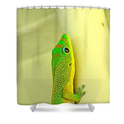 Upclose Shower Curtain by Lehua Pekelo-Stearns
