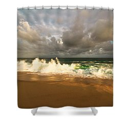 Shower Curtain featuring the photograph Upcoming Tropical Storm by Eti Reid