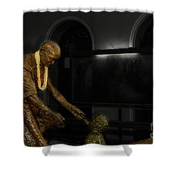 Uplift The Downtrodan Shower Curtain