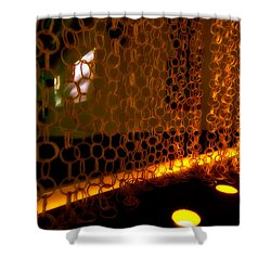 Uplight The Chains Shower Curtain by Melinda Ledsome