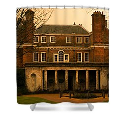 Uppark House Shower Curtain by Tracey Beer