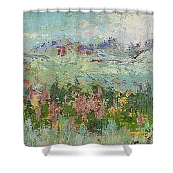 Highland Color Shower Curtain by Margaret Bobb