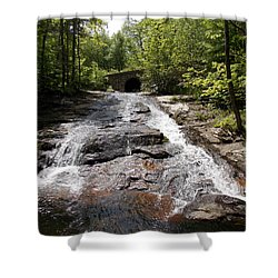 Upper Chapel Brook Falls Shower Curtain