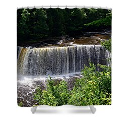 Upper Tahquamenon Falls Shower Curtain