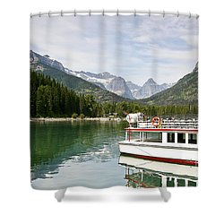 Shower Curtain featuring the photograph Upper Waterton Lakes by Teresa Zieba