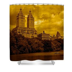 Upper West Side And Central Park Shower Curtain