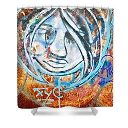 Urban Art Shower Curtain by Scott Pellegrin