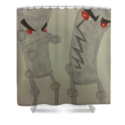 Urban Art Sprays Shower Curtain