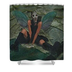Urban Fairy Shower Curtain