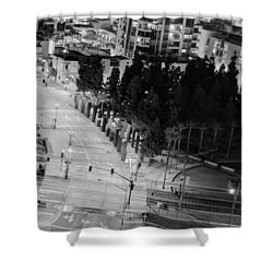 Shower Curtain featuring the photograph Urban  by Heidi Smith