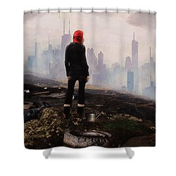 Urban Human Shower Curtain