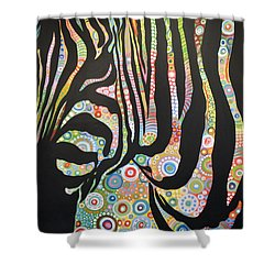 Urban Jungle Shower Curtain