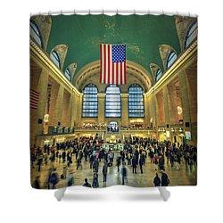 Urban Legend Shower Curtain by Evelina Kremsdorf