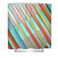 Urban Lines  Shower Curtain by Hannes Cmarits