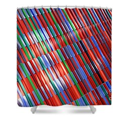 urban lines II Shower Curtain by Hannes Cmarits