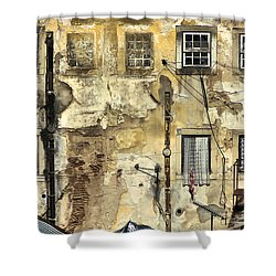 Urban Lisbon Shower Curtain