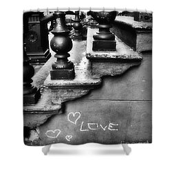 Urban Love Shower Curtain