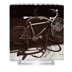 Urban Perch Shower Curtain by Xueling Zou