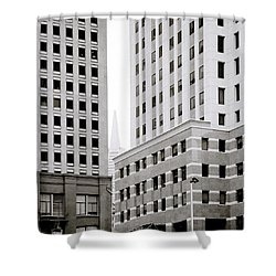 Urban San Francisco Shower Curtain by Shaun Higson