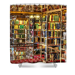 Uris Library Cornell University Shower Curtain