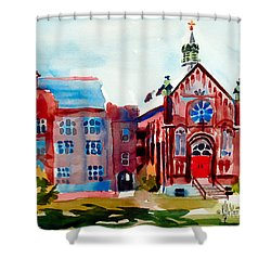 Ursuline Academy Arcadia Missouri Shower Curtain by Kip DeVore