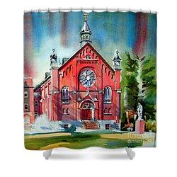 Ursuline Academy Sanctuary Shower Curtain by Kip DeVore