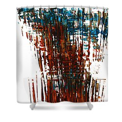 Us In The Divine 264.111011 Shower Curtain by Kris Haas
