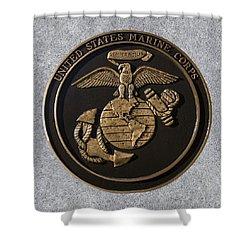 Us Marine Corps Shower Curtain