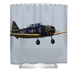 Us Navy Texan Shower Curtain by J Biggadike