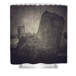 Us Shower Curtain by Trish Mistric
