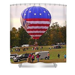 Usa Constitution Shower Curtain