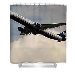 Usair Airbus Shower Curtain