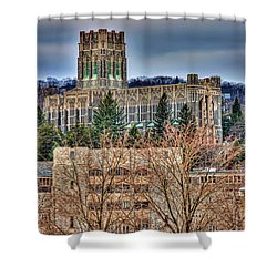 Usma Cadet Chapel Shower Curtain