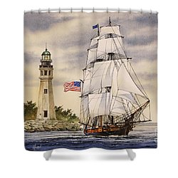 Uss Niagara Shower Curtain