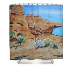 Utah - Arches National Park Shower Curtain