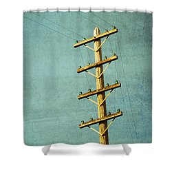 Utilitarian Shower Curtain