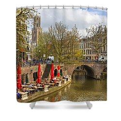 Utrecht Shower Curtain by Joana Kruse