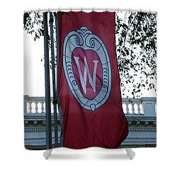 Uw Flag Shower Curtain