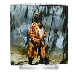Uzbek  Shower Curtain by Heiko Koehrer-Wagner