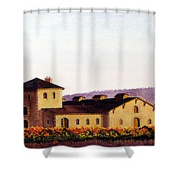 V. Sattui Winery Shower Curtain