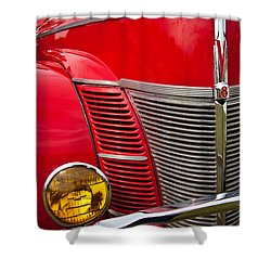 V8 - Another View Shower Curtain by Mark Alder