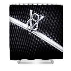 V8 Shower Curtain by Caitlyn  Grasso