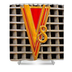 V8 Lasalle Shower Curtain by Jerry Fornarotto