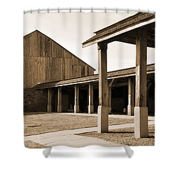 Shower Curtain featuring the photograph Vacant by Kirt Tisdale