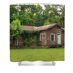 Vacant Rural Home Shower Curtain