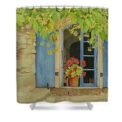 Vacation Memory Shower Curtain