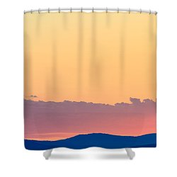 Vail Sunset Shower Curtain