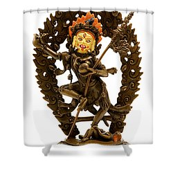Vajrayogini Shower Curtain