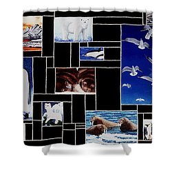 Valdez Spring Shower Curtain