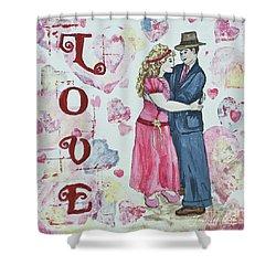 Valentine Love Shower Curtain